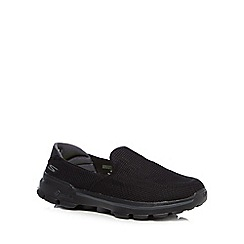 Skechers - Black 'Go Walk 3' trainers