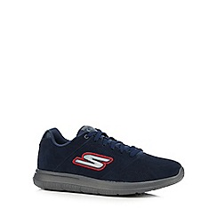 Skechers - Navy 'Go Walk City Challenger' trainers