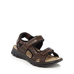 Rieker - Brown T-bar sandals