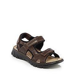 Rieker - Brown T-bar sandals