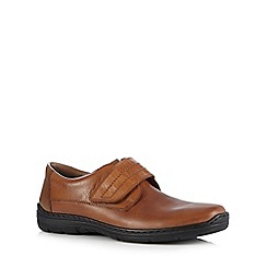 Rieker - Tan rip tape shoes