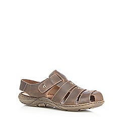 Rieker - Tan fisherman style sandals