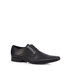 Base London - Black 'Oar' Derby shoes