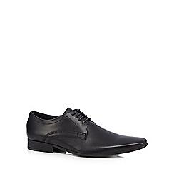 Base London - Black 'Oar' Derby shoes