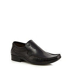 Base London - Black 'Howard' slip-on shoes