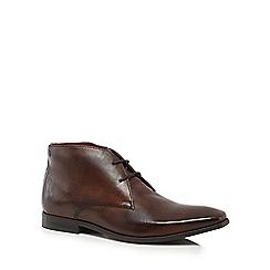 Base London - Brown 'Henry' Chukka boots
