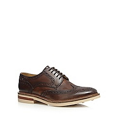 Base London - Dark brown 'Aspley' brogues