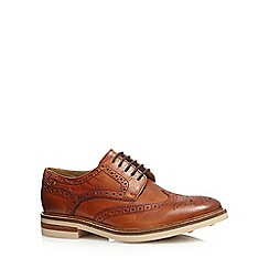 Base London - Tan 'Aspley' brogues