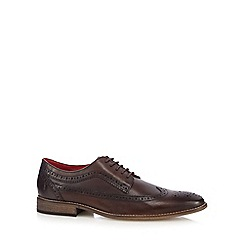 Base London - Dark brown 'Durham' brogues