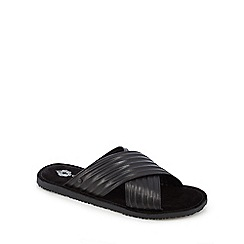 Base London - Black 'Commodus' sandals