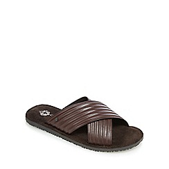 Base London - Brown 'Commodus' sandals