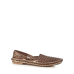 Base London - Brown 'Aztec' sandals