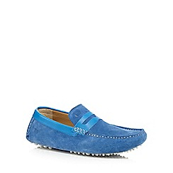 Base London - Blue 'Morgan' loafers