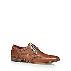Base London - Tan 'Surrey' brogues