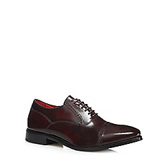 Base London - Dark red 'Noel' brogues