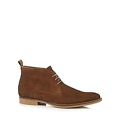 Base London - Tan 'Dore' chukka boots