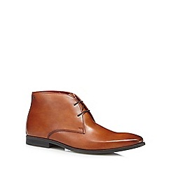 Base London - Tan 'Henry' chukka boots