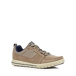 Skechers - Taupe 'Sport Arcade II Next Move' trainers