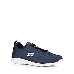 Skechers - Navy 'Equalizer Û Quick Reaction' trainers