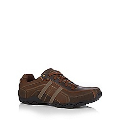 Skechers - Brown 'Diameter Murilo' trainers