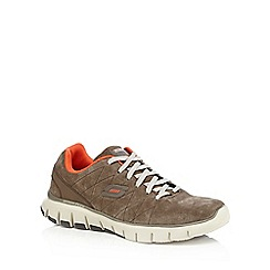 Skechers - Brown 'Skech Flex' trainers