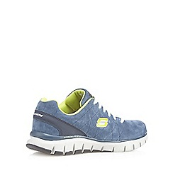 Skechers - Navy 'Skech Flex' trainers