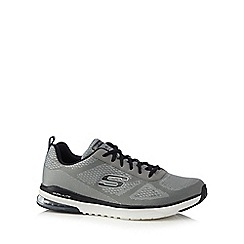 Skechers - Grey 'Skech Air' textured trainers