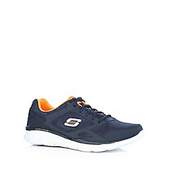 Skechers - Navy 'Equalizer Timepiece' trainers