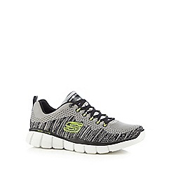 Skechers - Grey 'Equalizer 2.0 Perfect Game' trainers