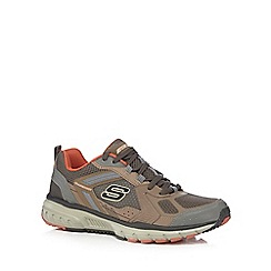 Skechers - Brown 'Geo Trek Pro Force' trainers