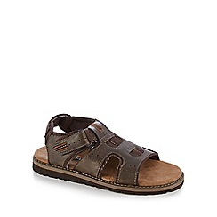 Skechers - Dark brown 'Goslon Graza' sandals