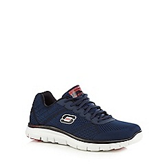 Skechers - Navy 'Flex Advantage Covert' trainers