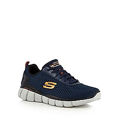 Skechers - Navy 'Equalizer 2.0 Settle the Score' trainers