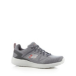 Skechers - Grey 'Burst Deal Closer' trainers