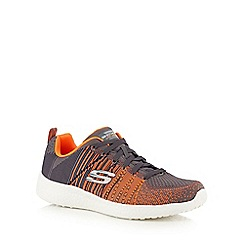 Skechers - Grey 'Burst Û In the Mix' trainers