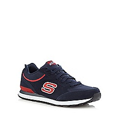 Skechers - Navy 'Retro' trainers