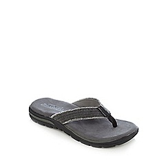 Skechers - Grey 'Supreme Bosnia' sandals