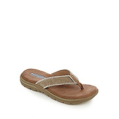 Skechers - Tan 'Supreme Bosnia' sandals