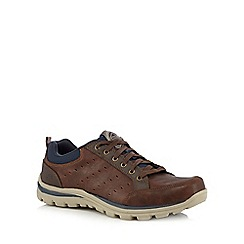 Skechers - Brown 'Superior Emens' lace up shoes