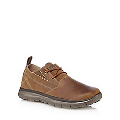 Skechers - Brown 'Hinton Boley' lace up shoes