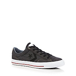 Converse - Dark grey 'Star Player' lace up shoes