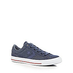 Converse - Navy 'Star Player' lace up shoes