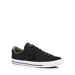 Converse - Black 'Star Player' lace up shoes