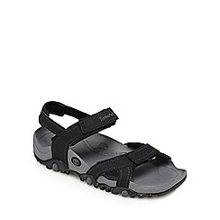 Timberland - Black 'Granite Trailray' sandals