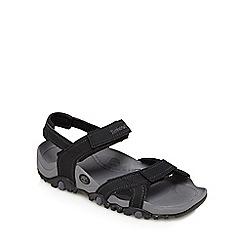 Timberland - Black 'Granite Trailray' sandals