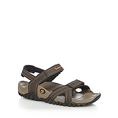 Timberland - Brown 'Granite Trailray' sandals