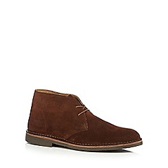 Loake - Brown suede Chukka boots