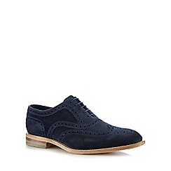 Loake - Navy suede brogues
