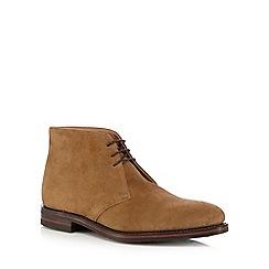 Loake - Tan suede chukka boots