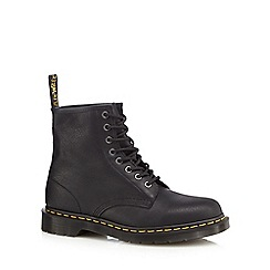 Dr Martens - Black leather lace up boots